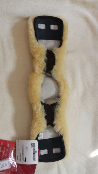 Lammfellbezug für Kurzgurt anatomisch 55cm kurze Lieferzeit