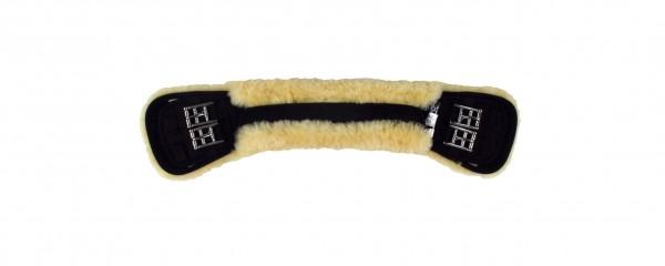Mattes Spezial-Kurzgurt mit abnehmbarem Lammfellbezug