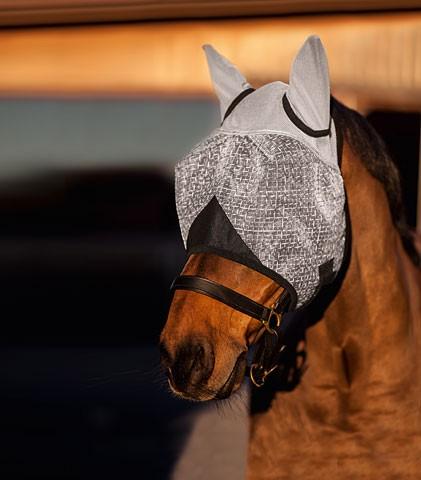 Fliegenmaske mit Ohrenschutz mit UV -Schutz