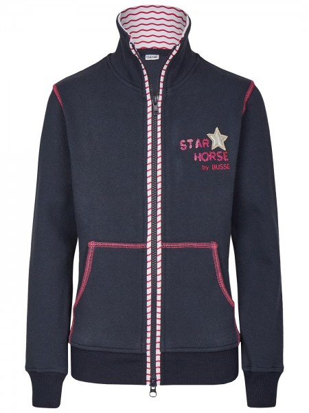 Busse Sweat-Shirt Jacke Star Horse