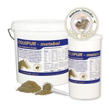 EQUIPUR - metabol unterstützt die Leberfunktion