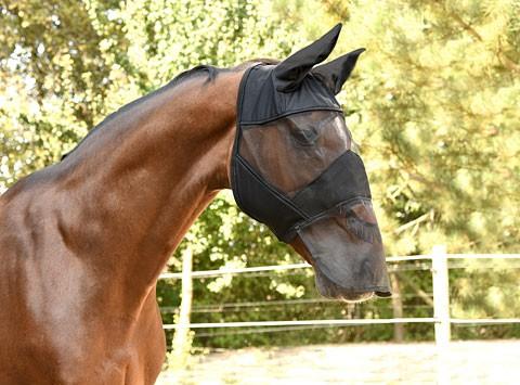 Fliegenmaske mit Ohren -und Nüsternschutz Kerbl