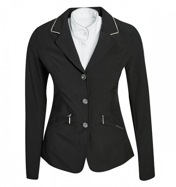 Embellished Ladies Competition Jacket Black Horseware