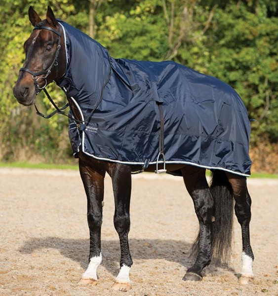 RAMBO Mack in a Sack -Regenschutz am Turnier!- Horseware