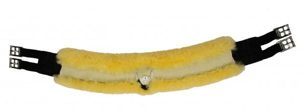 Mattes SLIM-LINE Spezial-Langgurt mit abnehmbarem Lammfellbezug