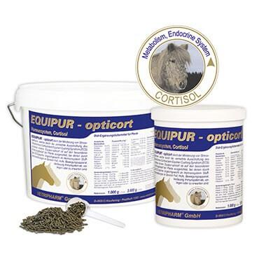 EQUIPUR - opticort für Cushing-Pferde